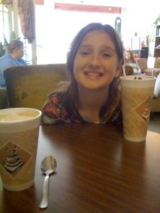 SO glad she likes coffee shops